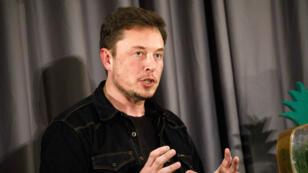 Le cofondateur et PDG de Tesla Elon Musk durant un événement de The Boring Company à Los Angeles, le 17 mai 2018.