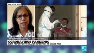 2020-09-28 10:04 India's coronavirus infections cross 6 million
