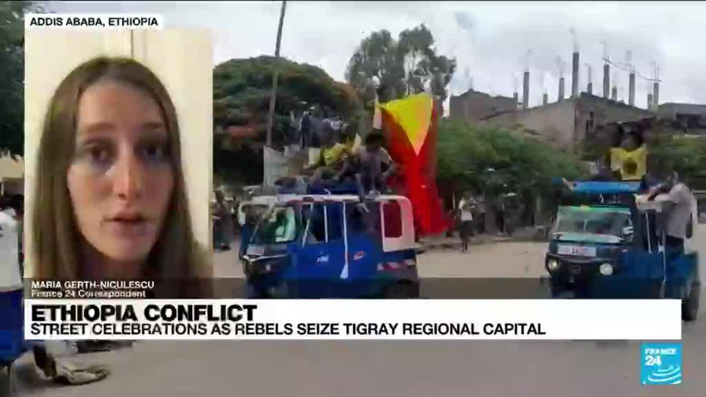 2021-06-29 21:02 Street celebrations as rebels seize Tigray regional