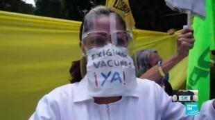 2021-04-18 13:31 Venezuela: trabajadores de la salud piden a ONU mediar para el ingreso de vacunas