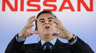 L'ex-PDG de l'alliance Renault-Nissan avant d'avoir été démis de son poste par le conseil d'administration de Nissan