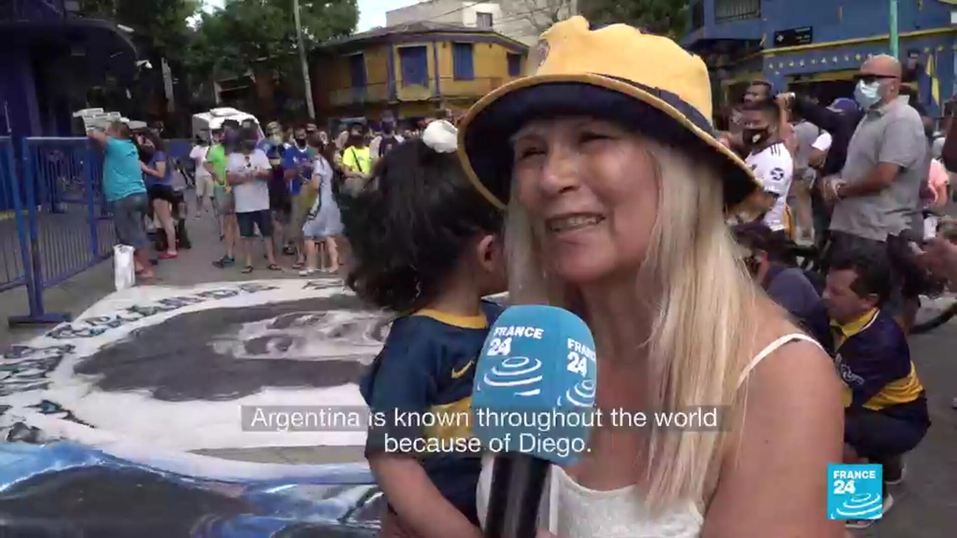 Maradona Argentina Boca Juniors