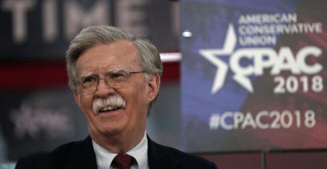 السفير الأمريكي السابق لدى الأمم المتحدة المحافظ المتشدد جون بولتون.