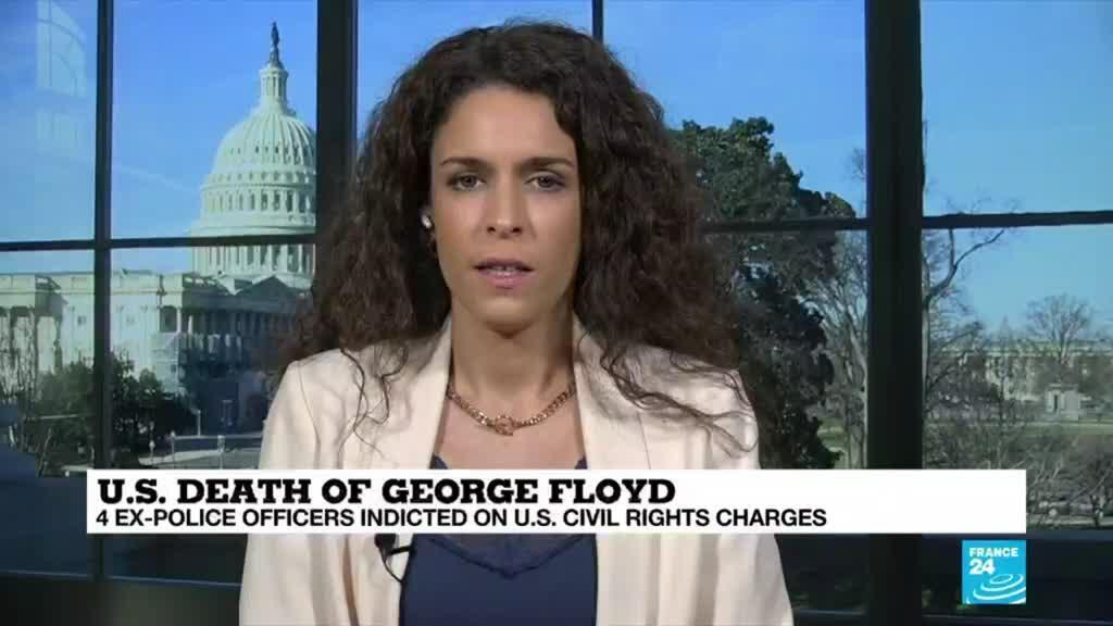 2021-05-07 18:01 4 ex-cops indicted on US civil rights charges in Floyd death