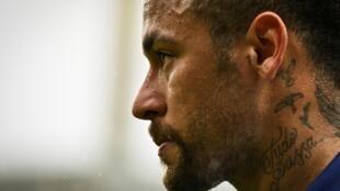 L'attaquant du Paris SG Neymar, le 31 janvier 2021 à Lorient