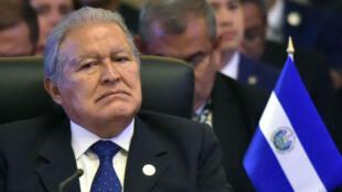 El presidente salvadoreño, Salvador Sánchez, durante la inauguración de la cumbre del Sistema de la Integración Centroamericana que se cumplió el 14 de diciembre de 2017.