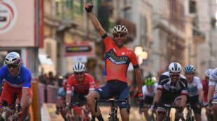 Nibali, vainqueur en solitaire de Milan - San Remo.