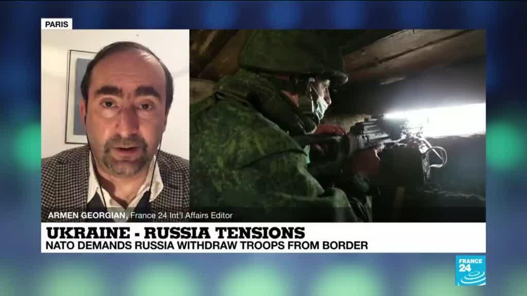 2021-04-13 15:02 Nato demands Russia withdraw troops from border with Ukraine amid growing tensions