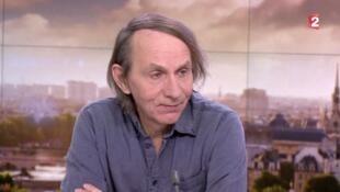 Michel Houellebecq, l'écrivain français vivant le plus connu à l'étranger.