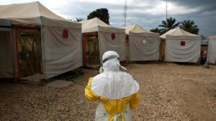 Foto de archivo del centro de tratamiento de ébola ALIMA (Alianza para la Acción Médica Internacional) en Beni, República Democrática del Congo, el 30 de marzo de 2019.