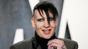 Marilyn Manson lors de la 92e cérémonie des Oscars à Los Angeles, le 9 février 2020.