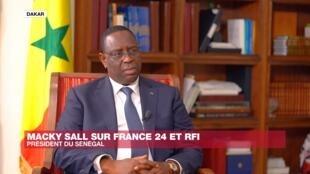 Macky Sall, président du Sénégal