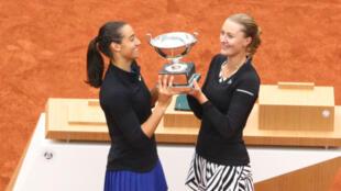 Les Françaises Kristina Mladenovic et Caroline Garcia titrées en double dames.