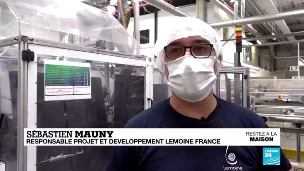 2020-04-17 11:09 Coronavirus : En Normandie, une entreprise familiale se réinvente pour produire des écouvillons
