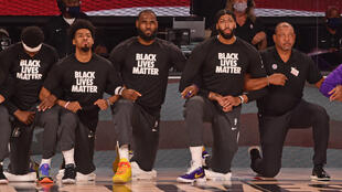 Basket NBA orlando black lives matter