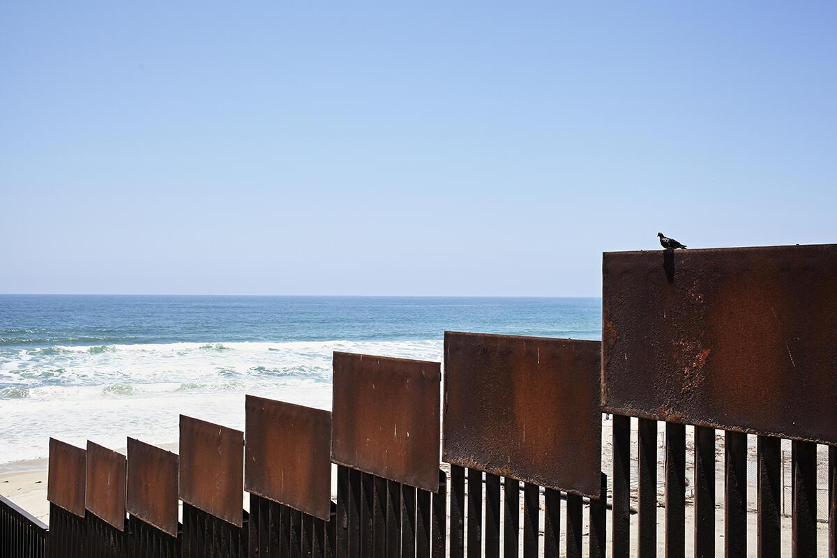 Le mur qui sépare Tijuana et San Diego a été bâti bien avant l'élection de Donald Trump.