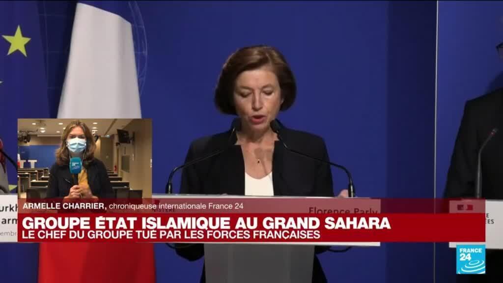 2021-09-16 12:04 Le chef du Groupe Etat islamique au Grand Sahara tué : quel retenir de la conférence de presse de Florence Parly ?