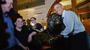 Barack Obama dans le Colorado, aux États-Unis, en 2014.