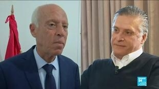 2019-10-13 21:01 Media magnate and law professor in face-off as Tunisian poll enters final round