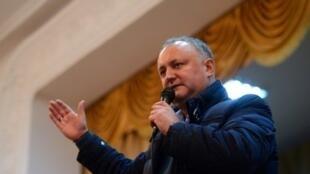 المرشح الاشتراكي لرئاسة مولدافيا إيغور دودون