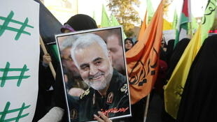 Qassem Soleimani was killed in a Trump-ordered air strike in the early hours of 3 January 2019.