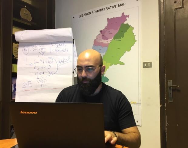 Ali Slim, coordinateur du département de recherches et membre du bureau exécutif de l'ONG.
