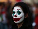 De Beyrouth à Hong Kong, le visage du Joker surgit dans les manifestations