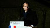 الرئيس الفرنسي إيمانويل ماكرون يعلن عن إطلاق عملية عسكرية لمجابهة فيروس كورونا