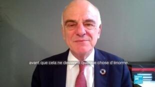 2020-07-10 17:13 David Nabarro, envoyé spécial de l'OMS pour le coronavirus, appelle à la vigilance