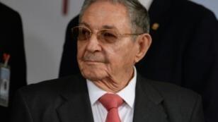 الرئيس الكوبي راؤول كاسترو يشارك في قمة في كراكاس 05 آذار/مارس 2018