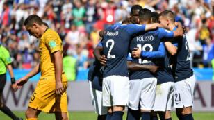 Les Bleus ont connu toutes les peines du monde à vaincre l'Australie.