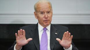 US President Joe Biden at the White House