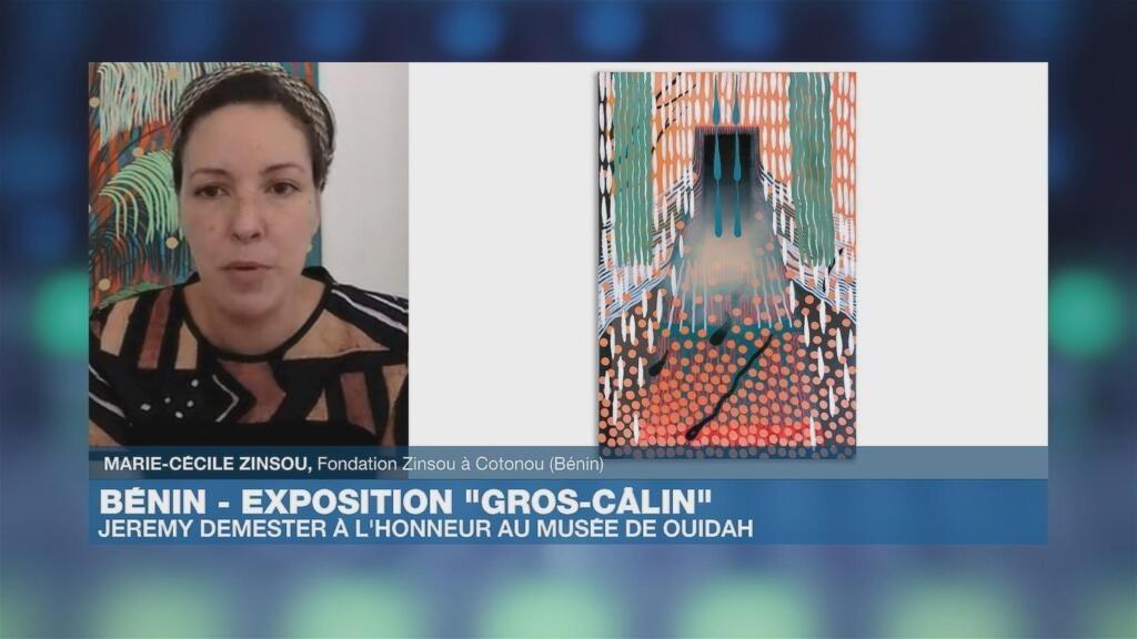 Bénin : l'exposition «Gros Câlins » au Musée de la Fondation Zinsou