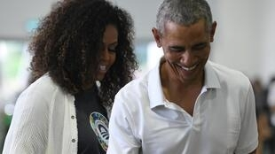 Michelle Obama has a new podcast, and her firt guest will be... former US president Barack Obama