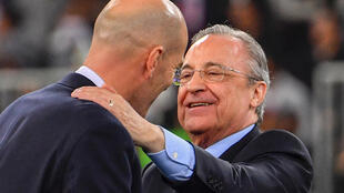 Florentino Perez is starting his sixth term as Real Madrid president