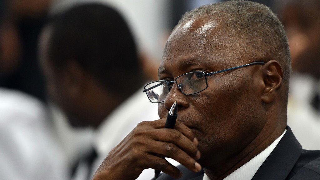 Jocelerme Privert, 62 ans, a été élu président provisoire d'Haïti par le Parlement.