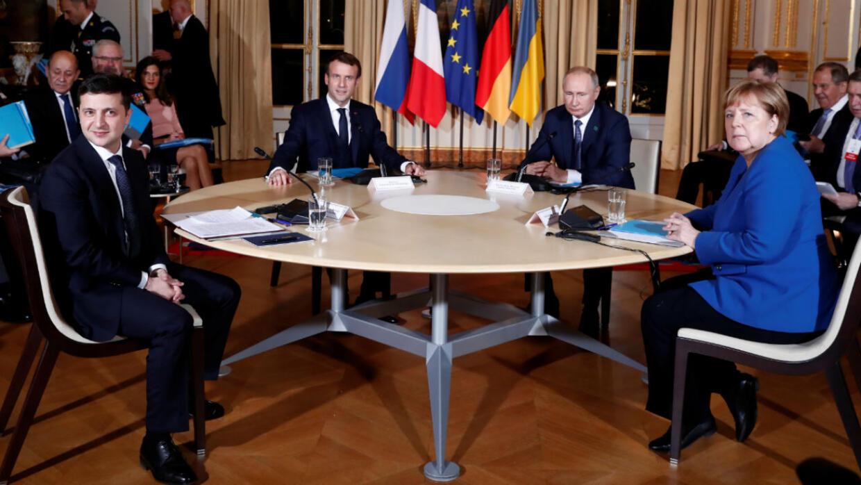 Live: World leaders speak after Ukraine peace talks uniting Zelensky, Putin in Paris