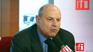 Jean-Marie Le Guen, secrétaire d'État chargé des Relations avec le Parlement.