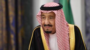 Le roi Salmane d'Arabie Saoudite, le 14 novembre 2017, à Riyad.