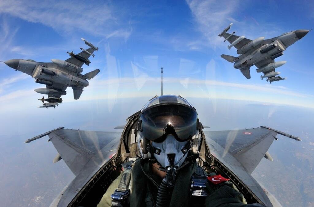 القوات الجوية التركية