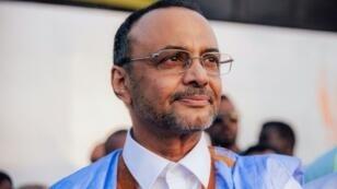 أحد المرشحين لرئاسة موريتانيا محمد ولد بوبكر في نواكشوط في 30 آذار/مارس 2019