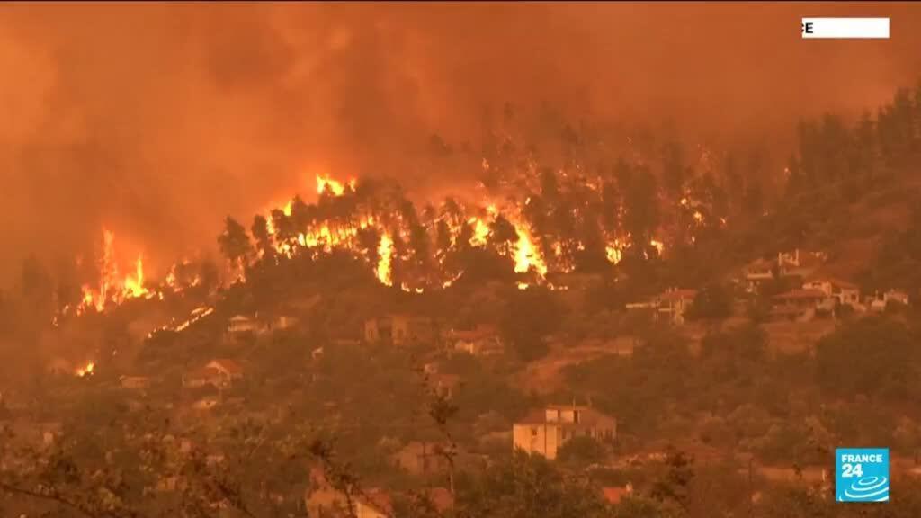 2021-08-09 15:06 Incendies : un été marqué par une série de catastrophes climatiques