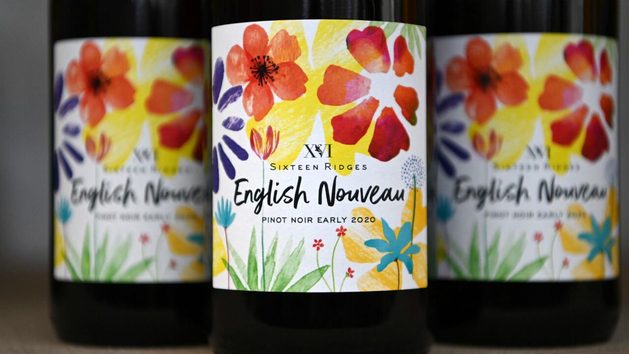 English Nouveau wine