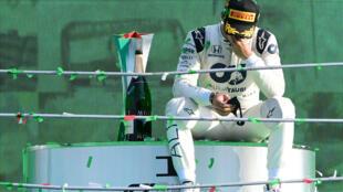 Pierre Gasly remporte le Grand Prix d'Italie