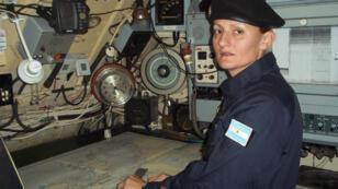 Eliana Krawczyk, première femme d'Amérique latine nommée officier de sous-marin, fait partie des disparus.