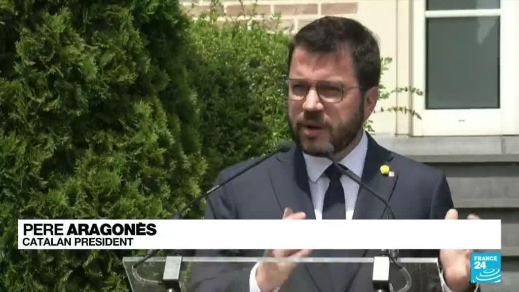 2021-06-21 19:01 Nine jailed Catalan separatist leaders to be pardoned by Spain