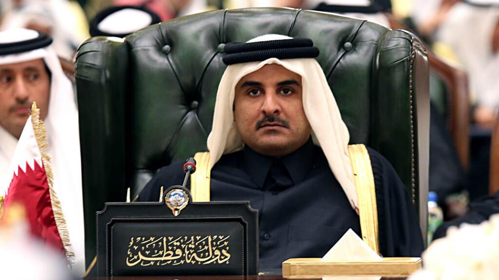 L'émir Tamim ben Hamad al-Thani.