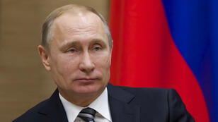 Vladimir Poutine lors d'une réunion avec son homologue grec, le 15 janvier 2016, en Russie.