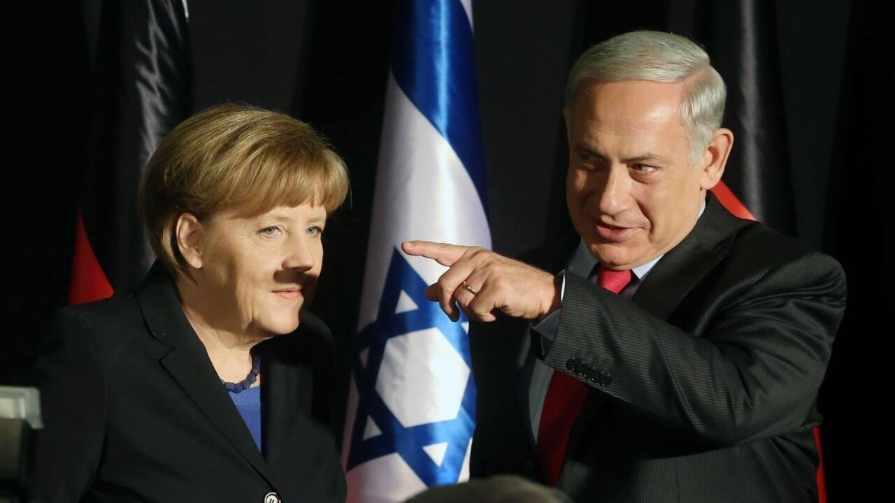 Les Aventures de Bibi ! Photo%20merkel%20netanyahou