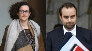 Emmanuelle Wargon et Sébastien Lecornu ont été nommés le 14 janvier 2019 pour animer le grand débat national.